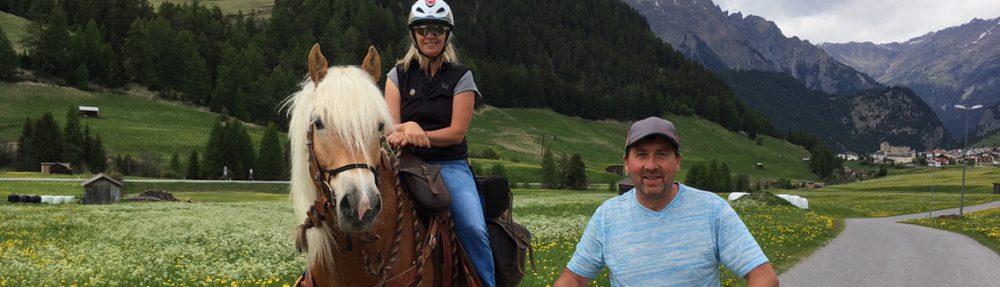 Leben atmen – Nobby goes Cortina – amac-buch 2017 – mit Pferd und Drahtesel von Zams nach Cortina d'Ampezzo